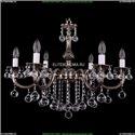 1702/6/250/B/NB/Balls Хрустальная подвесная люстра Bohemia Ivele Crystal