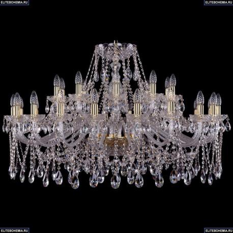 1413/20+10/400/G Хрустальная подвесная люстра Bohemia Ivele Crystal (Богемия)