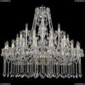 1413/20+10+5/400/G Хрустальная подвесная люстра Bohemia Ivele Crystal