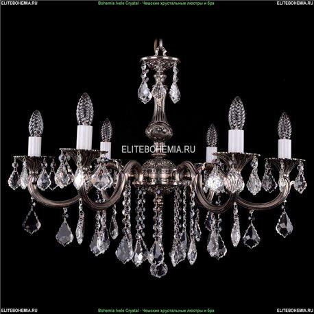 1702/6/B/NB/Leafs Подвесная люстра Bohemia Ivele Crystal (Богемия)