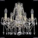 1413/5/141/G Хрустальная подвесная люстра Bohemia Ivele Crystal (Богемия)