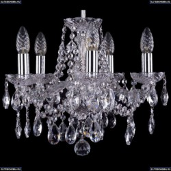 1413/5/141/Ni Хрустальная подвесная люстра Bohemia Ivele Crystal