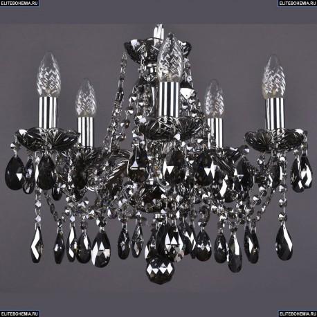 1413/5/141/Ni/M781 Хрустальная подвесная люстра Bohemia Ivele Crystal