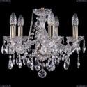 1413/5/141/Pa Хрустальная подвесная люстра Bohemia Ivele Crystal