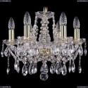 1413/6/141/G Хрустальная подвесная люстра Bohemia Ivele Crystal
