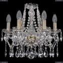1413/6/141/Pa Хрустальная подвесная люстра Bohemia Ivele Crystal