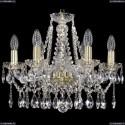 1413/6/165/G Хрустальная подвесная люстра Bohemia Ivele Crystal