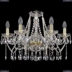 1413/6/200/G Хрустальная подвесная люстра Bohemia Ivele Crystal (Богемия)