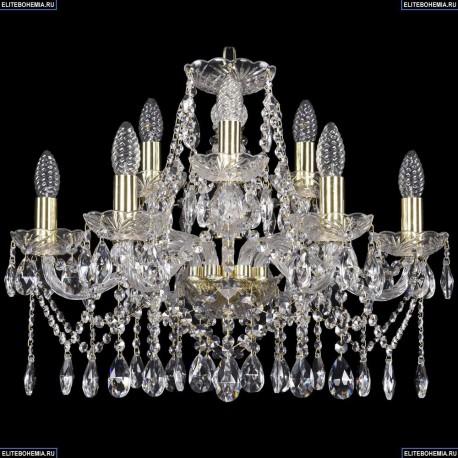 1413/6+3/200/G Хрустальная подвесная люстра Bohemia Ivele Crystal