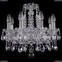 1413/8/141/Ni Хрустальная подвесная люстра Bohemia Ivele Crystal