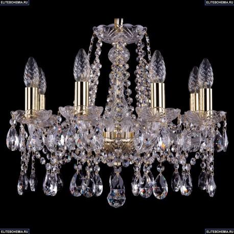 1413/8/165/G Хрустальная подвесная люстра Bohemia Ivele Crystal (Богемия)