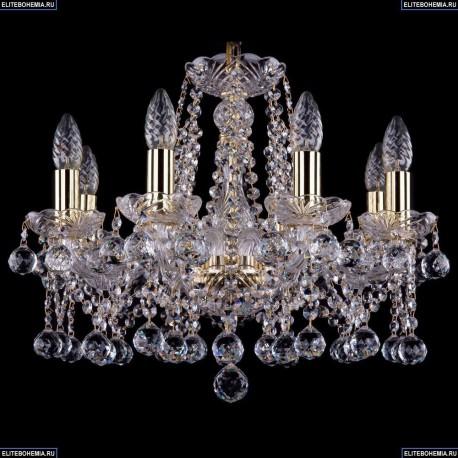 1413/8/165/G/Balls Хрустальная подвесная люстра Bohemia Ivele Crystal