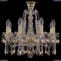 1413/8/165/G/K701 Хрустальная подвесная люстра Bohemia Ivele Crystal
