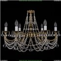 1702/6/250/C/GB/Balls Хрустальная подвесная люстра Bohemia Ivele Crystal