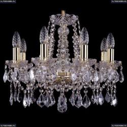 1413/8/165/G/Leafs Хрустальная подвесная люстра Bohemia Ivele Crystal (Богемия)