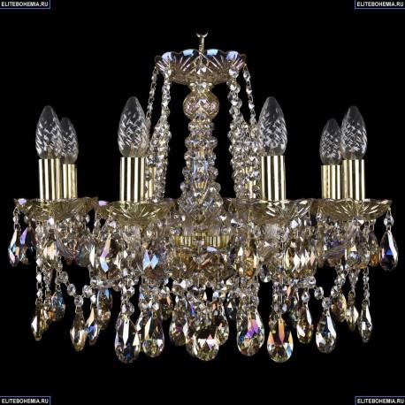 1413/8/165/G/M701 Хрустальная подвесная люстра Bohemia Ivele Crystal