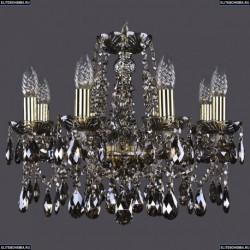 1413/8/165/G/M731 Хрустальная подвесная люстра Bohemia Ivele Crystal