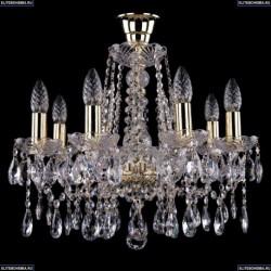 1413/8/165/G/Tube Хрустальная подвесная люстра Bohemia Ivele Crystal (Богемия)