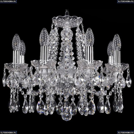 1413/8/165/Ni Хрустальная подвесная люстра Bohemia Ivele Crystal