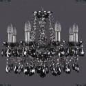 1413/8/165/NI/M781 Хрустальная подвесная люстра Bohemia Ivele Crystal
