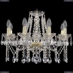 1413/8/200/G Хрустальная подвесная люстра Bohemia Ivele Crystal