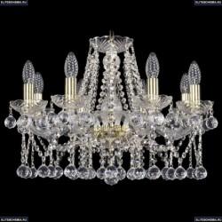 1413/8/200/G/Balls Хрустальная подвесная люстра Bohemia Ivele Crystal