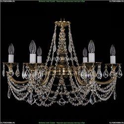 1702/6/250/C/GB/Leafs Хрустальная подвесная люстра Bohemia Ivele Crystal