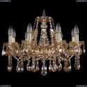 1413/8/200/G/M721 Хрустальная подвесная люстра Bohemia Ivele Crystal