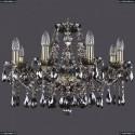 1413/8/200/G/M731 Хрустальная подвесная люстра Bohemia Ivele Crystal