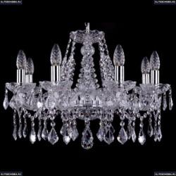 1413/8/200/Ni/Leafs Хрустальная подвесная люстра Bohemia Ivele Crystal