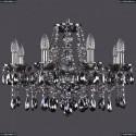 1413/8/200/Ni/M731 Хрустальная подвесная люстра Bohemia Ivele Crystal