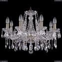 1413/8/200/Pa Хрустальная подвесная люстра Bohemia Ivele Crystal