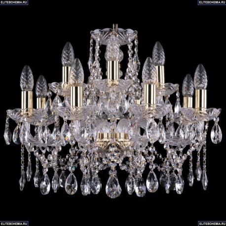 1413/8+4/200/G Хрустальная подвесная люстра Bohemia Ivele Crystal