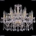 1413/8+4/200/G Хрустальная подвесная люстра Bohemia Ivele Crystal (Богемия)