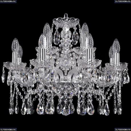 1413/8+4/200/Ni Хрустальная подвесная люстра Bohemia Ivele Crystal