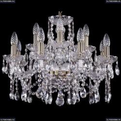 1413/8+4/200/Pa Хрустальная подвесная люстра Bohemia Ivele Crystal
