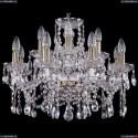 1413/8+4/200/Pa Хрустальная подвесная люстра Bohemia Ivele Crystal (Богемия)