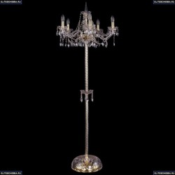 1413T2/5/200-160/G Хрустальный торшер Bohemia Ivele Crystal