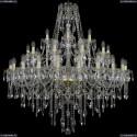 1415/20+10+5/400/G Хрустальная подвесная люстра Bohemia Ivele Crystal