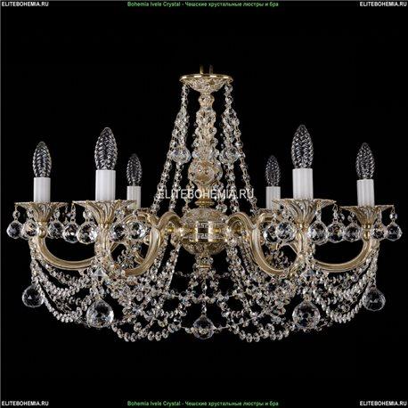 1702/6/C/GW/Balls Подвесная люстра Bohemia Ivele Crystal (Богемия)