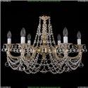 1702/6/250/C/GW/Balls Хрустальная подвесная люстра Bohemia Ivele Crystal