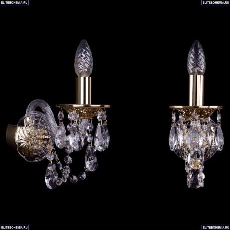 1600/1/G Хрустальное бра Bohemia Ivele Crystal