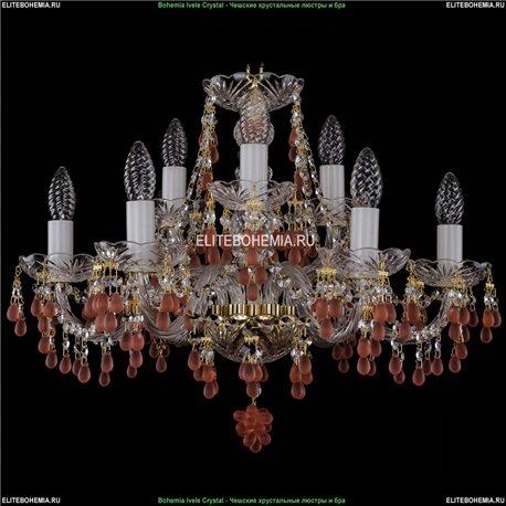 1410/6+3/195/G/7010 Хрустальная подвесная люстра Bohemia Ivele Crystal (Богемия)