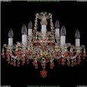 1410/6+3/195/G/V7010 Хрустальная подвесная люстра Bohemia Ivele Crystal