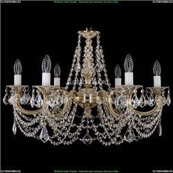 1702/6/250/C/GW/Leafs Хрустальная подвесная люстра Bohemia Ivele Crystal