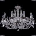 1606/10/240/NB Хрустальная подвесная люстра Bohemia Ivele Crystal