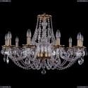 1606/10/300/FP Хрустальная подвесная люстра Bohemia Ivele Crystal