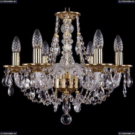 1606/6/160/G Хрустальная подвесная люстра Bohemia Ivele Crystal