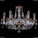 1606/6/195/FP Хрустальная подвесная люстра Bohemia Ivele Crystal