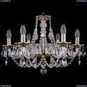 1606/6/195/GB Хрустальная подвесная люстра Bohemia Ivele Crystal
